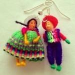 cholita oorbellen man en vrouw